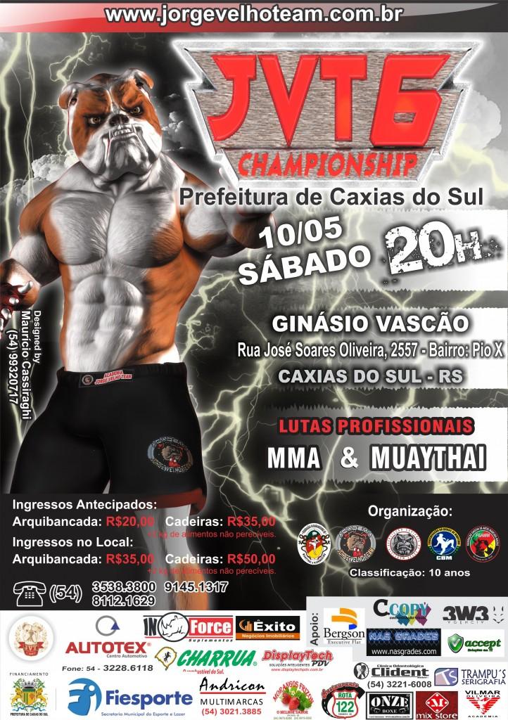 Cartaz JVT Championship 6