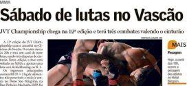Pioneiro – Noite de sábado terá grandes lutas na 12ª edição do JVT Championship